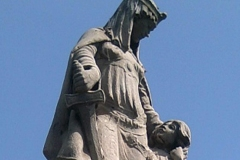 Lady Aethelflaed, the lady of Mercia and daughter of Alfred the Great.
