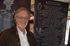 The author Bernard Cornwell.