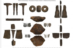 Iron working tools recovered by WA